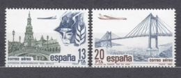 Spain 1981 Airmail Mi#2524-2525 Mint Never Hinged - 1931-Aujourd'hui: II. République - ....Juan Carlos I