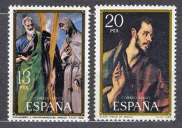Spain 1982 Airmail Mi#2552-2553 Mint Never Hinged - 1931-Aujourd'hui: II. République - ....Juan Carlos I