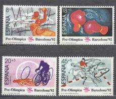 Spain 1989 Olympic Games Barcelona Mi#2875-2878 Mint Never Hinged - 1931-Aujourd'hui: II. République - ....Juan Carlos I