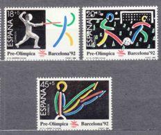 Spain 1989 Olympic Games Barcelona Mi#2905-2907 Mint Never Hinged - 1931-Aujourd'hui: II. République - ....Juan Carlos I