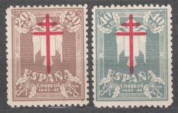 Spain 1942 TBC Pro Tuberculosos Mi#901-902 Mint Hinged - Wohlfahrtsmarken