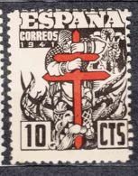 Spain 1941 TBC Pro Tuberculosos Mi#29 Mint Hinged - Bienfaisance