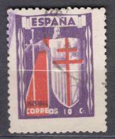 Spain 1943 TBC Pro Tuberculosos Mi#33 Used - Wohlfahrtsmarken