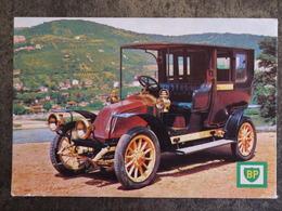 MUSEE DE L AUTO PUBLICITE BP RENAULT 1908 TAXI DE VERDUN ROCHETAILLEE SUR SAONE FORMAT 10 X 7 CM - Autres Collections