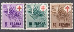 Spain 1950 TBC Pro Tuberculosos Mi#52-53 + Mi#983 Mint Hinged - Wohlfahrtsmarken