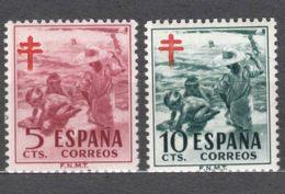 Spain 1951 TBC Pro Tuberculosos Mi#55-56 Mint Hinged - Wohlfahrtsmarken