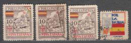 Spain Por La Patria Stamps - Impuestos De Guerra