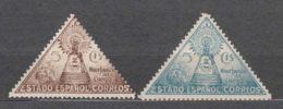 Spain Beneficencia 1938 Edifil#19-20 Mint Hinged - Wohlfahrtsmarken