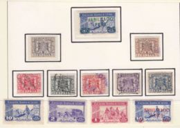 Spain Telegrafos And Other Stamps Lot - Télégraphe