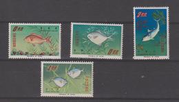 Taiwan Formose 1965 Poissons 518-21 4 Val ** MNH - 1945-... Republik China