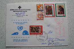 MISSIONI INTERNAZIONALI ONU NATO MISSIONE UNPROFOR BOSNIA DA SKOPJE MACEDONIA MACHEDOHNIA 1993 - Macédoine