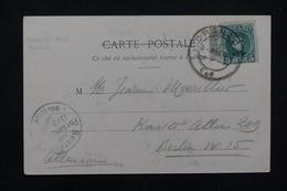 FRANCE - Type Blanc Sous Timbre Espagnol Sur Carte Postale Pour Berlin En 1905 - L 23197 - Marcophilie (Lettres)