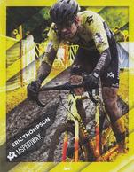 Cyclisme , ERIC THOMPSON 2019 - Cyclisme
