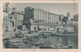 1934-Civitavecchia Calata Principe Tommaso,viaggiata - Civitavecchia