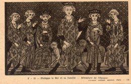 Le Roi De France Philippe IV Le Bel Et Sa Famille. - Histoire