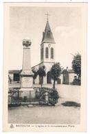 BIRTOUTA -  EGLISE ET LE MONUMENT AUX MORTS - ALGERIE - Autres Villes