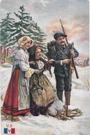 GUERRE 14/18. Chasseur Alpin, Alsace Et Lorraine - Illustration - Guerre 1914-18