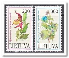 Litouwen 1992, Postfris MNH, Plants, Flowers - Litouwen