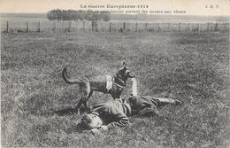 GUERRE 14/18. CHIEN Ambulancier Portant Des Secours Aux Blessés - Guerre 1914-18