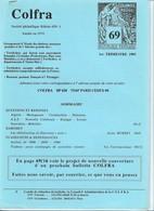 Colfra 69 1er Trimestre 1995 - Colonies Et Bureaux à L'Étranger