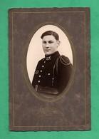 Photographie : Militaire Du 22eme Regiment Photo Sur Carton De  Marchal Photographe Versailles ( Format 11cm X 18,5cm ) - Guerre, Militaire