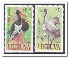 Litouwen 1991, Postfris MNH, Birds - Litouwen