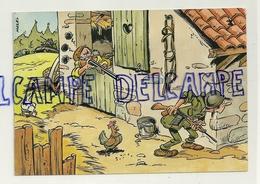 Humour. Un Paysan Met Un Soldat En Joue. Copyright J. Maezelle Publisher - Humoristiques