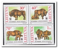 Litouwen 1996, Postfris MNH, Animals, WWF - Litouwen