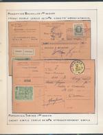 BELGIUM BELGIQUE HOUYOUX RECEPISSE BRUXELLES TAMINES - 1922-1927 Houyoux