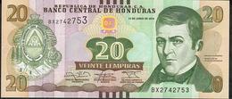 HONDURAS P100b 20 LEMPIRAS 2014 #BX         UNC. - Honduras