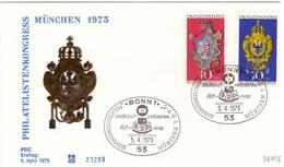 Bund -  FDC, 1973, Nr. 764/65 - BRD