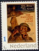 Nederland 2019  Leger Des Heils  Salvation Army   WWI Poster                Postfris/mnh/sans Charniere - Periode 1980-... (Beatrix)