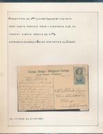 BELGIUM BELGIQUE HOUYOUX EP VUE UTILISE COMME SUPPORT - 1922-1927 Houyoux