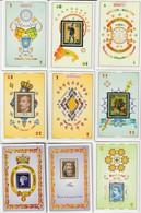 BARAJA ESPAÑOLA,PLAYING CARDS DECK,COMPENDIO FILATELIA ESPAÑOLA. Nº  3260 - Barajas De Naipe