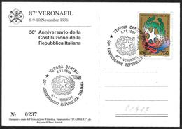 Italia/Italie/Italy: 50° Repubblica Italiana, 50th Italian Republic, 50ème République Italienne - Storia