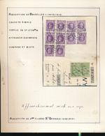 BELGIUM BELGIQUE HOUYOUX QUITANCE DE BRUXELLES EN 1927 - 1922-1927 Houyoux
