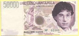 50000 Lire - Cinquantamila - Pseudo Banconota Della Banca Nord Nazione - Gadget Politico - Lega Nord Bossi Umberto - Italia