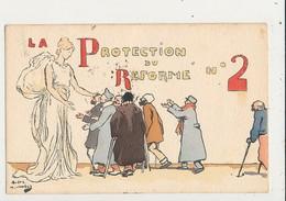 PUBLICITE LA PROTECTION DU REFORME NO 2 CPA BON ETAT - Guerre 1914-18