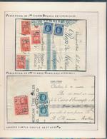 BELGIUM BELGIQUE HOUYOUX QUITANCE DE BRUXELLES / CHARLEROI EN 1928 - 1922-1927 Houyoux