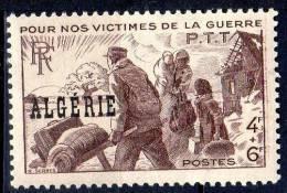 """ALGERIE - 1945-47: """"Victimes De La Guerre"""" - N° 242** - Algérie (1924-1962)"""