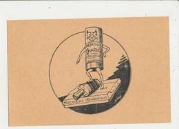 PUBLICITE LABORATOIRES CHARVOZ LYON CPA BON ETAT - Werbepostkarten
