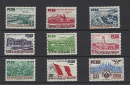 PEROU.  YT PA  N° 87/95  Neuf **  1951  (voir Scan) - Pérou