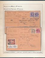 BELGIUM BELGIQUE HOUYOUX RECEPISSE MONS TAMINES EN 1926 1930 - 1922-1927 Houyoux