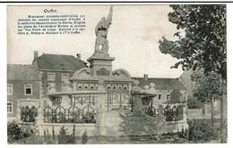 Ouffet - Monument Commémoratif à La Mémoire Des Morts Pur La Patrie - Edit. Guilmot Et Meura - 2 Scans - Ouffet