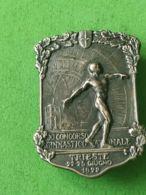 SPORT Spilla 1922 Concorso Ginnico Nazionale Trieste - Italia