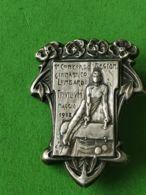 SPORT Spilla 1908 Concorso Ginnico Lombardo Triulium - Italia