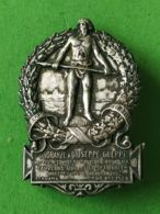 SPORT Spilla 1928   Concorso Ginnico Sezionale Bergamo - Italia