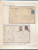 BELGIUM BELGIQUE HOUYOUX ANNULATION ROULETTE - 1922-1927 Houyoux