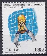 Repubblica Italiana, 1982 - 1000 Lire Italia Campione Del Mondoi - Nr.1613 MNH** - 1981-90: Nieuw/plakker