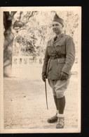 CPA1001.....CARTE PHOTO UZES MILITAIRE MARS 1940 - Uzès